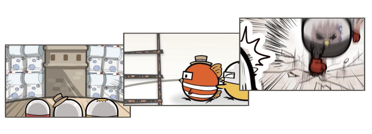 扭蛋雞漫畫片段