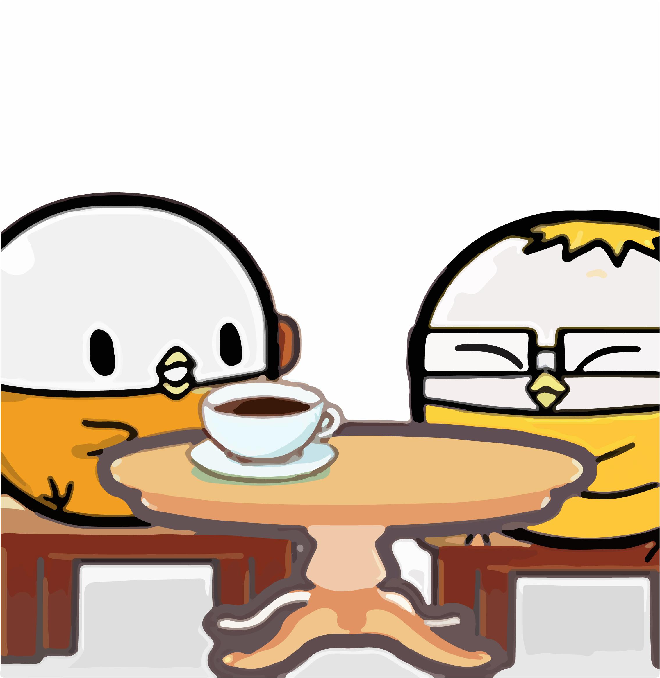 扭蛋雞-一杯咖啡的錢