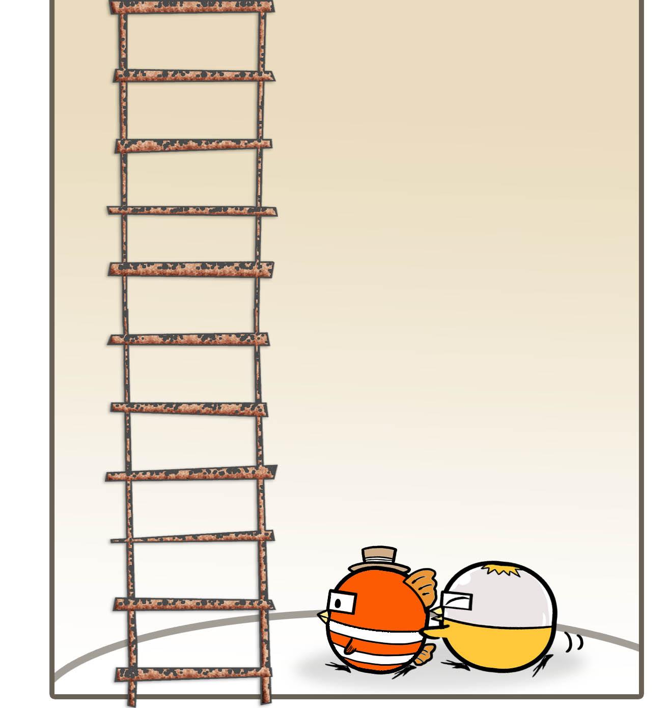 《扭蛋雞漫畫》第14話