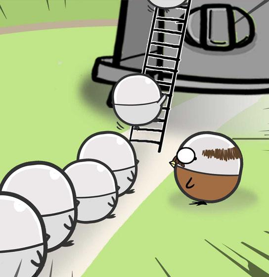 《扭蛋雞漫畫》第27話